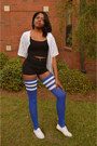 Blue-american-apparel-shirt-blue-thigh-high-american-apparel-socks