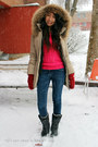 Black-sorel-boots-blue-garage-jeans-beige-soia-kyo-jacket