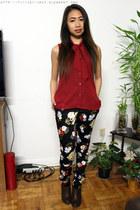 H&M boots - H&M pants