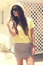 F21-hat-h-m-shirt-vintage-bag-h-m-skirt