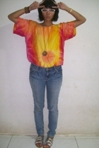 top - jeans -