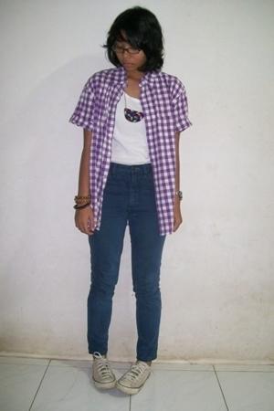 t-shirt - jeans - -