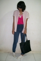 - - jeans - shoes -