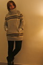 Gap-sweater-zara-sneakers-zara-pants