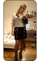 Zara sweater - isael marant skirt - andr shoes