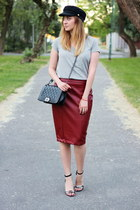 NewYorker skirt - Zara shoes - choiescom hat - Primark t-shirt