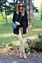 Nelly shoes - H&M jeans - Zara sweater - romwe vest