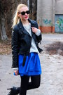 Leather-h-m-jacket-topshop-boots-vintage-sweater-h-m-skirt