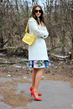 shein skirt - asos bag