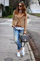 Mango jacket - New Yorker jeans - sammydress bag - Adidas sneakers