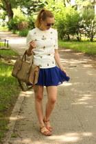 Oasapcom skirt - choiescom top - asos sandals
