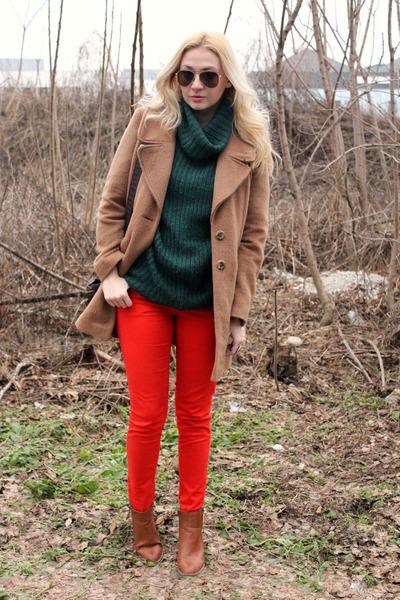 Primark boots - F&F coat - H&M jeans - asos sweater - asos bag