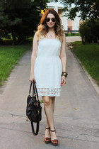 Stradivarius shoes - Gate dress - asos bag