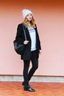Ankle-boots-zara-shoes-beanie-zara-hat
