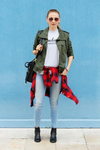 Zara jeans - G-Star jacket - Primark shirt