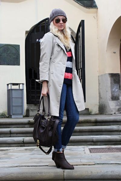 Ebay boots - Zara jeans - H&M hat - asos bag