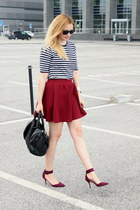 Zara shoes - Stradivarius skirt