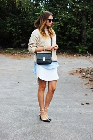 OASAP shoes - vintage sweater - H&M shirt