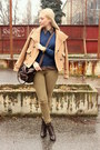 Dorothy-perkins-boots-h-m-jeans-zara-jacket-vintage-shirt-asos-bag
