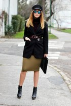new look shoes - Choies hat - Missguided skirt