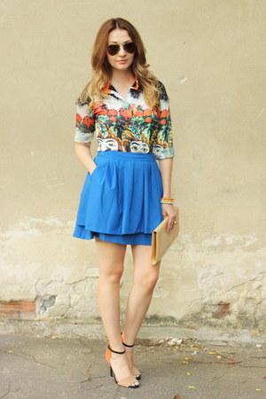 ZLZcom blouse - Zara shoes - H&M skirt
