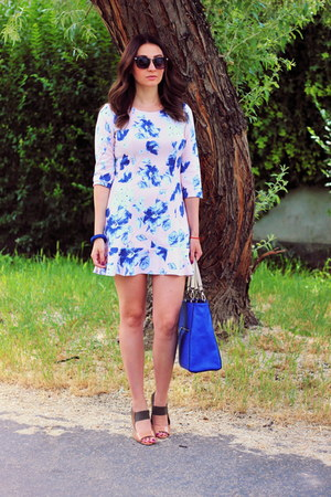 Primark shoes - Sheinsidecom dress - Zara bag