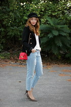 zaful blazer - reserved shoes - sammydress bag