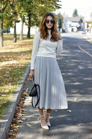 Rosegal skirt - Primark sweater