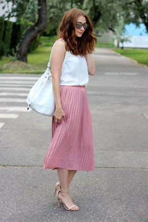 Rosegal skirt - asos bag - Pimkie top