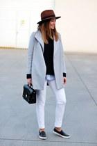 OASAP coat - asos shoes - Primark jeans - H&M hat - turtleneck H&M sweater