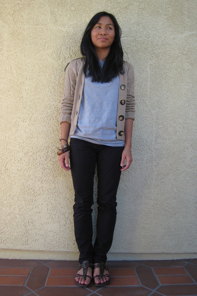 Old Navy jacket - calvin klein t-shirt - H&M pants - Target shoes