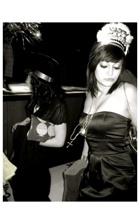 Forever21 dress - Aldo purse - Betsey Johnson necklace