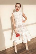 eggshell Isabel Garsiait dress