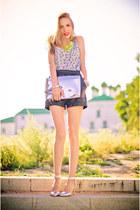 nowIStyle top - Zara bag - next heels