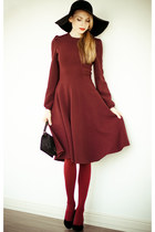 crimson Serginnetti dress