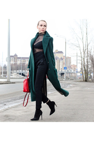 podium market coat - Alexander Wang bag