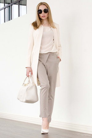 heather gray Serginnetti pants