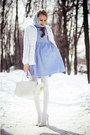 Sky-blue-sheinsidecom-dress-white-befree-jacket