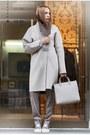 Silver-coat-silver-bag-silver-pants