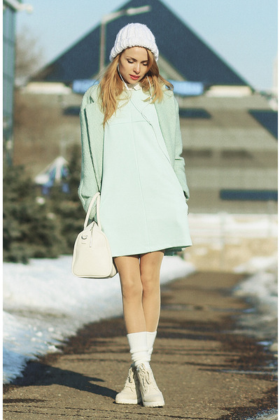 aquamarine Be free dress - aquamarine Sheinsidecom coat