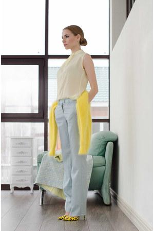 Serginetti top - asos heels - Serginetti pants