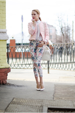 light pink Sheinside pants