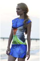 blue Marika dress