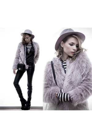 silver OASAP coat