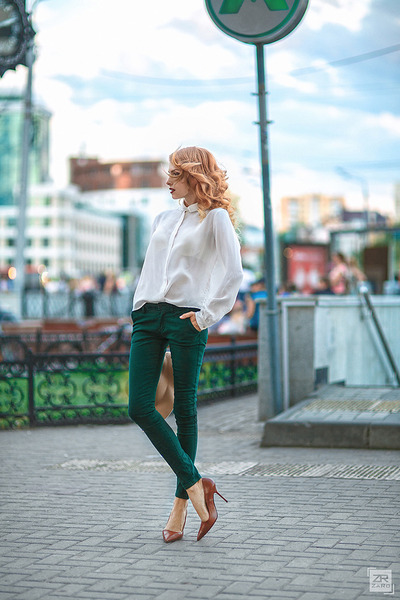 teal BeFree pants