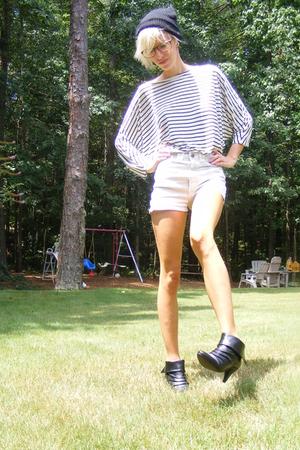 H&M shirt - American Apparel shorts - Steve Madden shoes