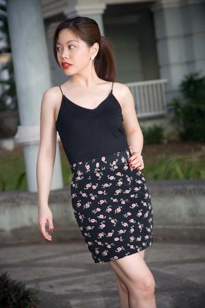 black crescent clothing skirt