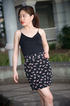 black crescent clothing skirt