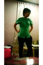 bysi blouse - Divi pants - Charles & Keith shoes