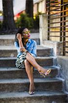 Topshop shirt - Topshop skirt